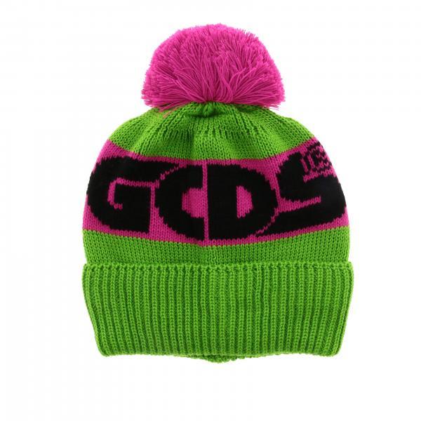 Cappello Gcds con banda logata e maxi pompon