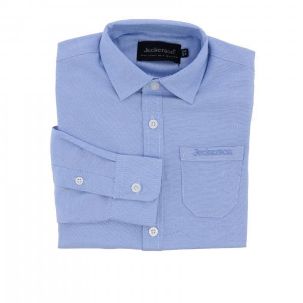 Camicia Jeckerson a maniche lunghe con taschino a toppa e logo