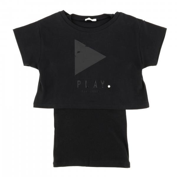 T-shirt Liu Jo con top a maniche corte e maxi stampa