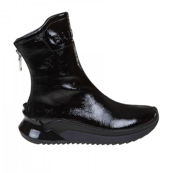 Sneakers Donna Balmain Nero | Sneakers Balmain Slip On Con Maxi Zip | Sneakers Balmain Sn0c254lver