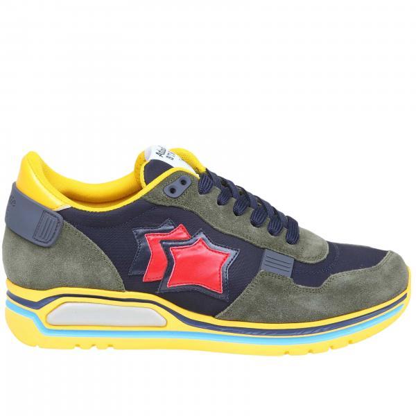 Sneakers Pegasus Atlantic Stars in camoscio nylon e pelle con suola in gomma