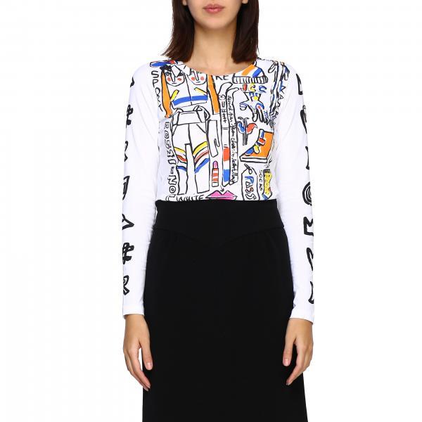 T-shirt Rossignol a maniche lunghe con stampe e logo