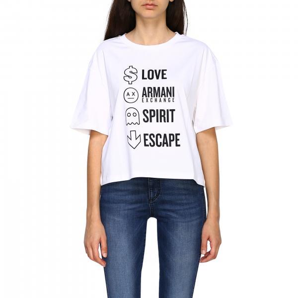T-shirt femme Armani Exchange