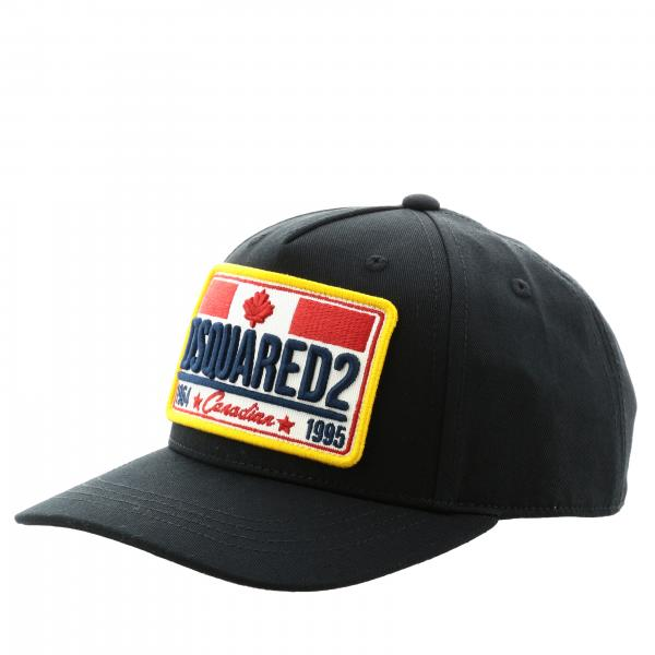 Cappello Dsquared2 Junior con maxi logo