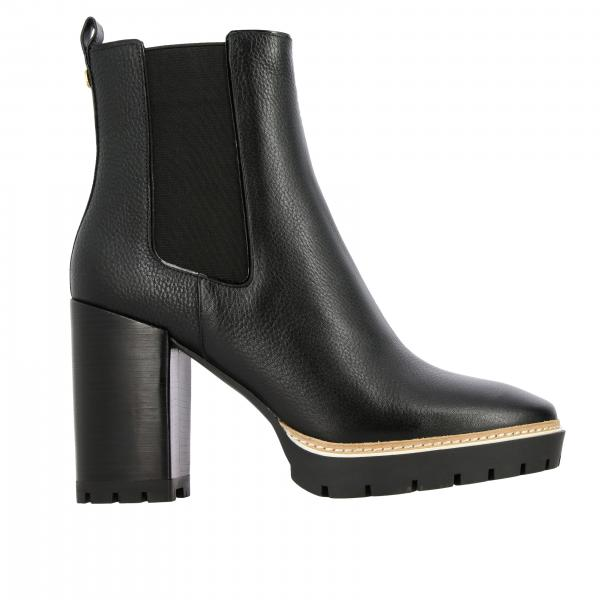 Heeled booties Tory Burch