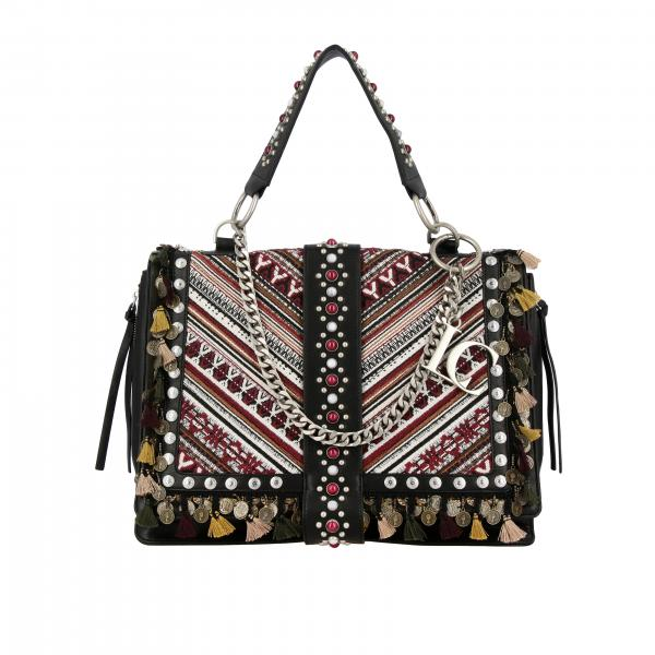 Carrie A Borsa Sintetica Over All 192m NeroIn Mano Donna La Pelle Ricami t Con tep 240 vmN8n0Ow