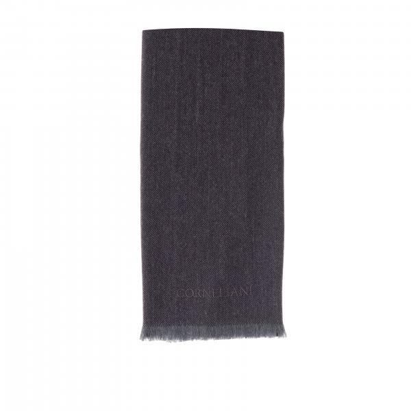 Sciarpa Corneliani classica con effetto spigato