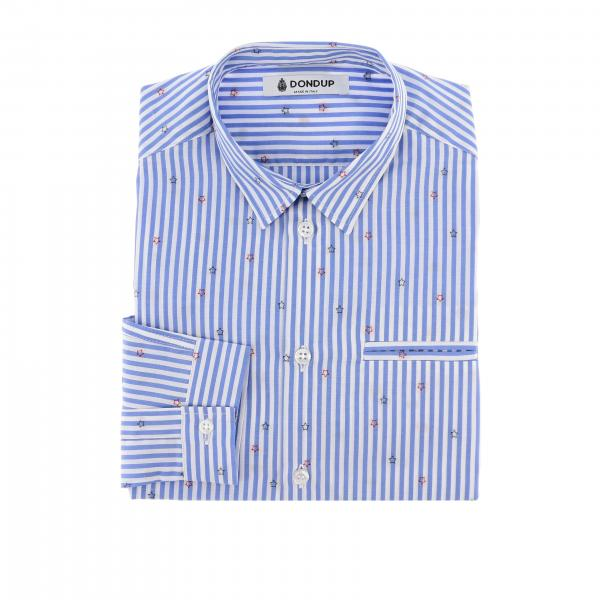 Camicia Dondup a maniche lunghe con fantasia all over