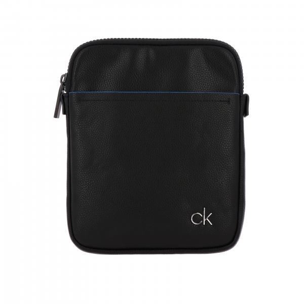 Con Borsa Uomo Klein Ck A K50k504788 Calvin Tracolla NeroBorsello Logo 4jL5Rq3A