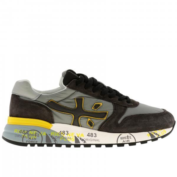 Sneakers Mick Premiata in camoscio pelle e nylon