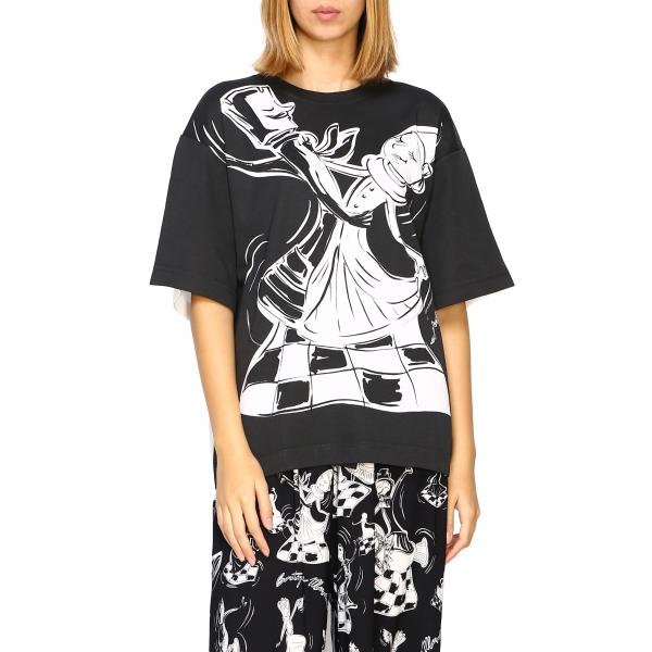 T-shirt Boutique Moschino con maxi stampa