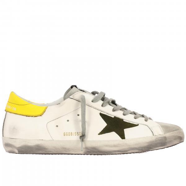 Superstar Golden Goose Sneakers aus Wildleder und Leder