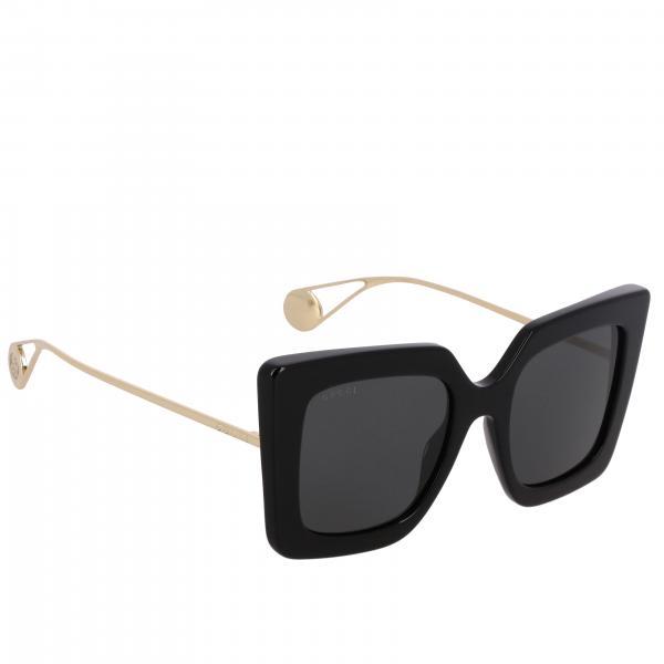 Occhiali da sole GG0435S Gucci in metallo e acetato ponte 22 asta 140