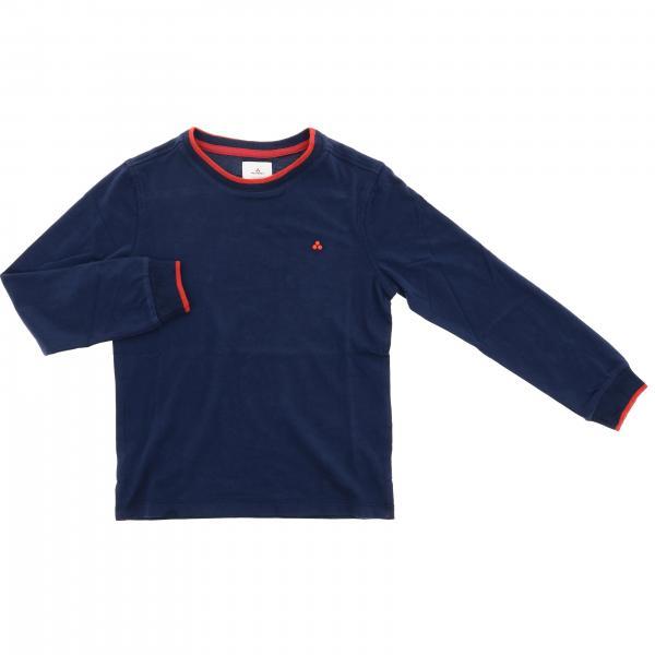 Camiseta de manga larga con logo de Peuterey