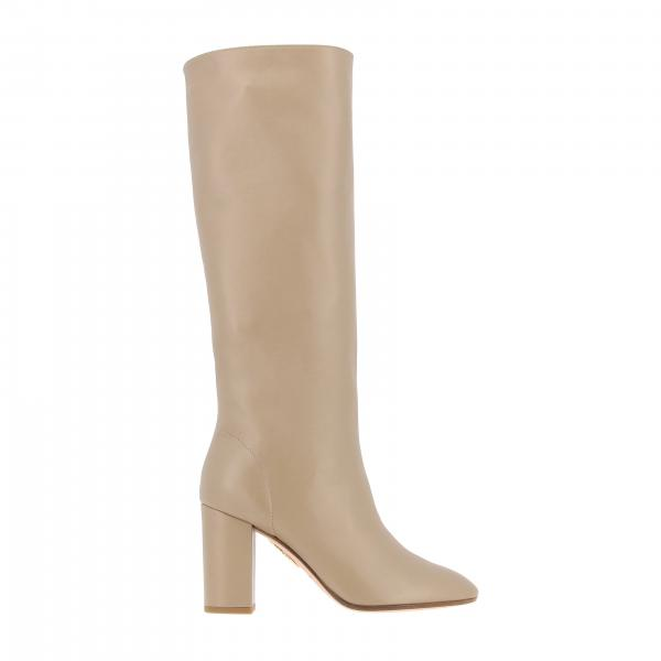 Heeled ankle boots Aquazzura BOOMID82NAP