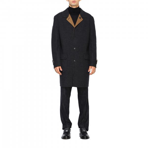 Cappotto Corneliani classico a monopetto reversibile