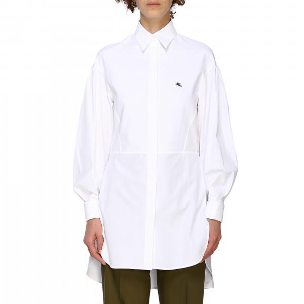 Camicia Etro con collo italiano lunga
