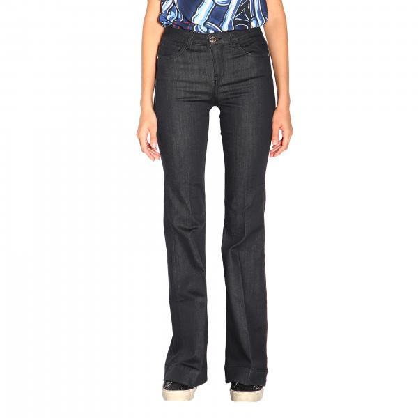 Jeans Fiona 1 Pinko flare in denim stretch