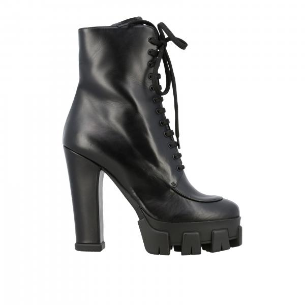 Heeled ankle boots women Prada
