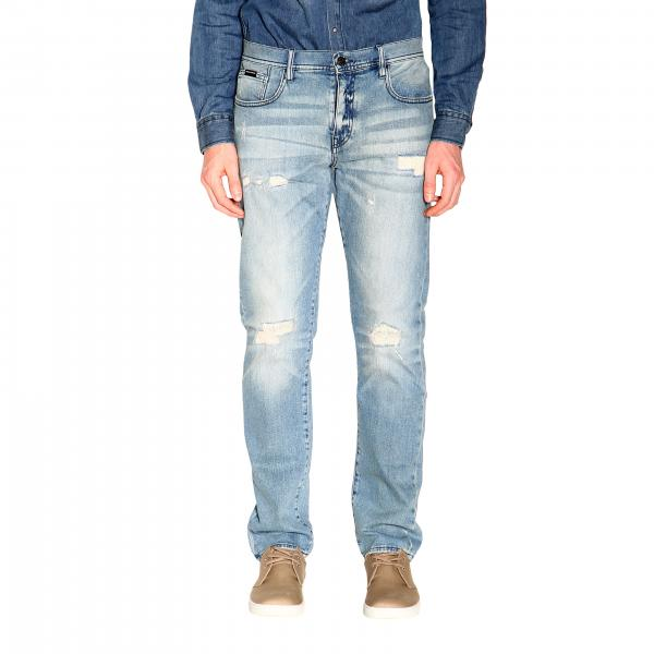 Jeans Armani Exchange in denim stretch used