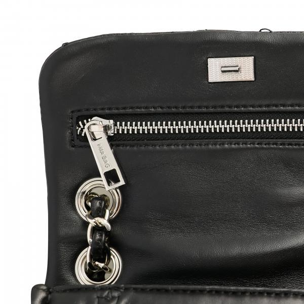 Borsa 19307 Mini Logo NeroTrapuntata Con Maxi Donna Bag Mia OkZP0w8nXN