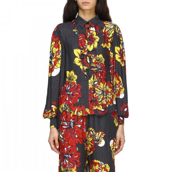 Camicia I'm Isola Marras con stampa floreale