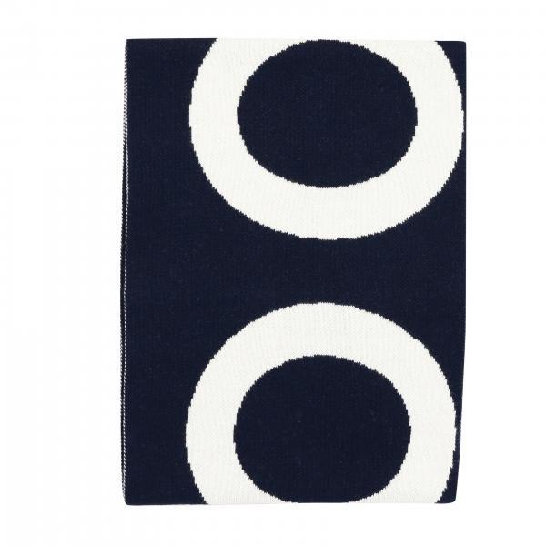 Sciarpa Woolrich con maxi logo