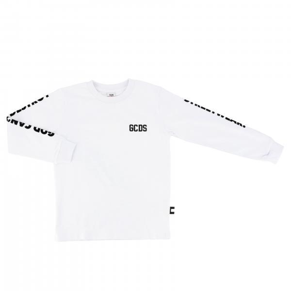 T-shirt Gcds a maniche lunghe con logo