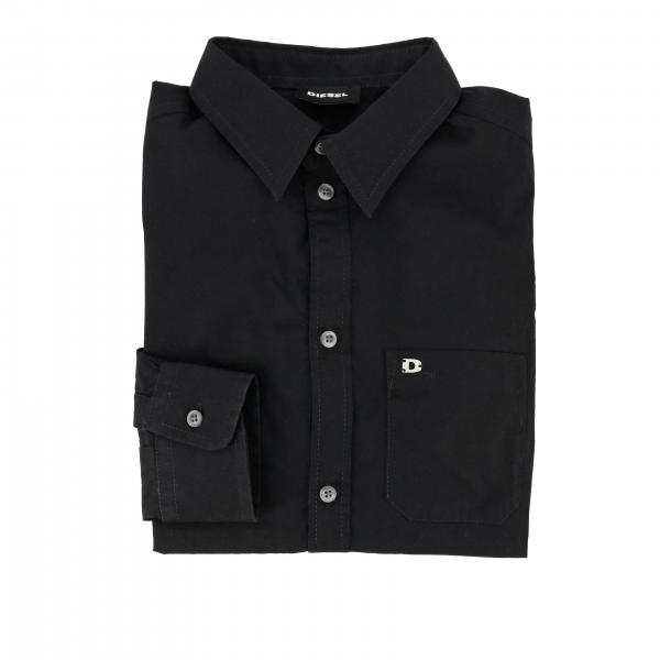 Diesel shirt with long sleeves with logo
