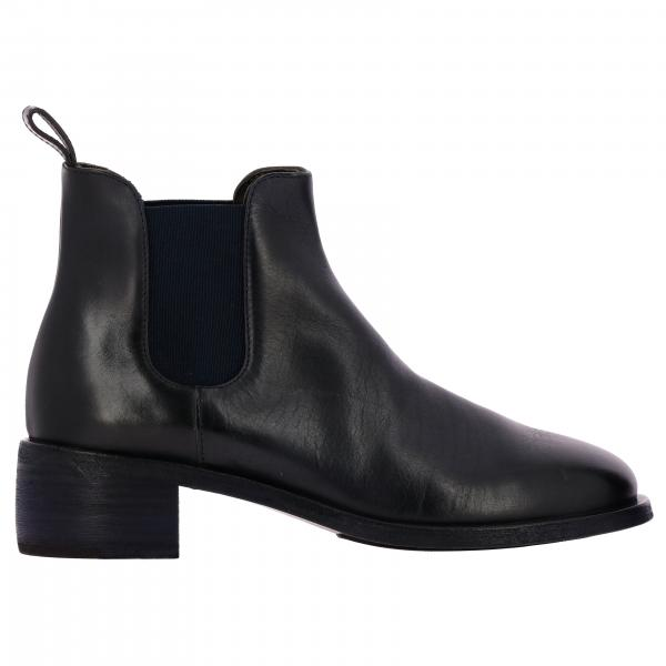 Bottines Scalpellino Marsell slip on en cuir