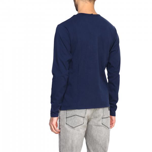 Logo 692518 Sails North Blue Con Lunghe Uomo NavyA T shirt Maniche Ovmn0yN8w