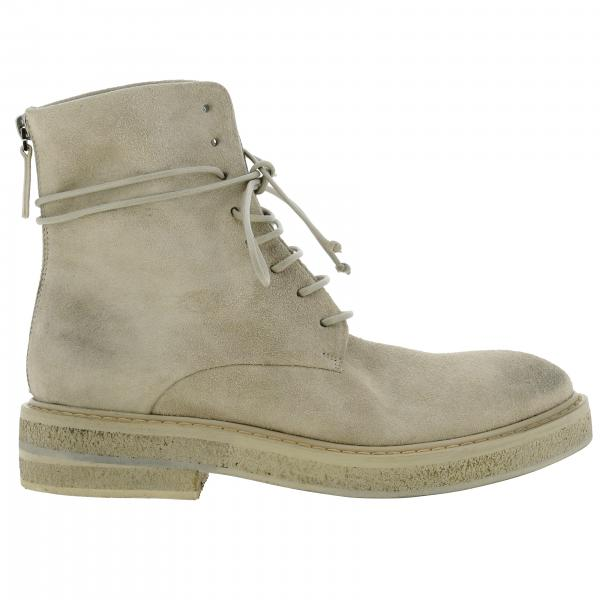 Parrucca Marsell boots in suede with macro zip
