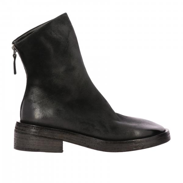 Stivaletto Zip Rilisto Marsell in pelle