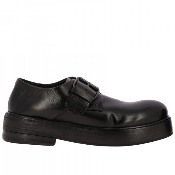 Zuccolona Marsell leather derby shoes with buckle
