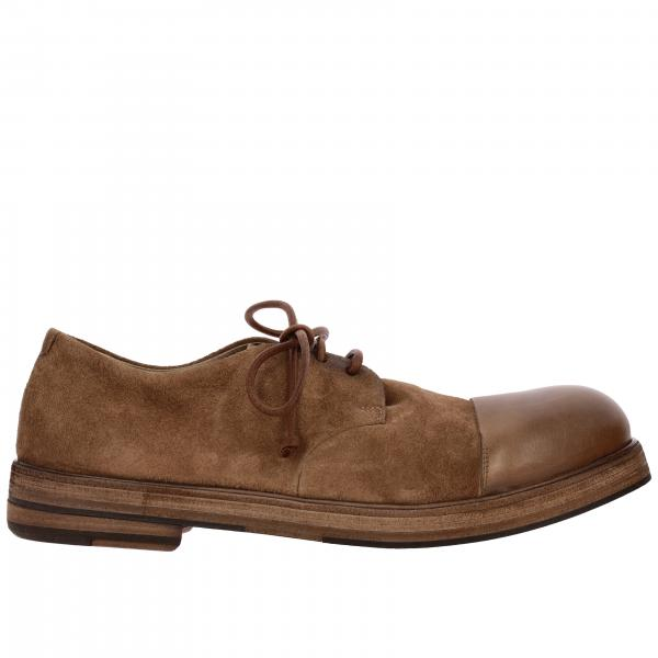 Marsell Zucca Derby shoes in suede leather