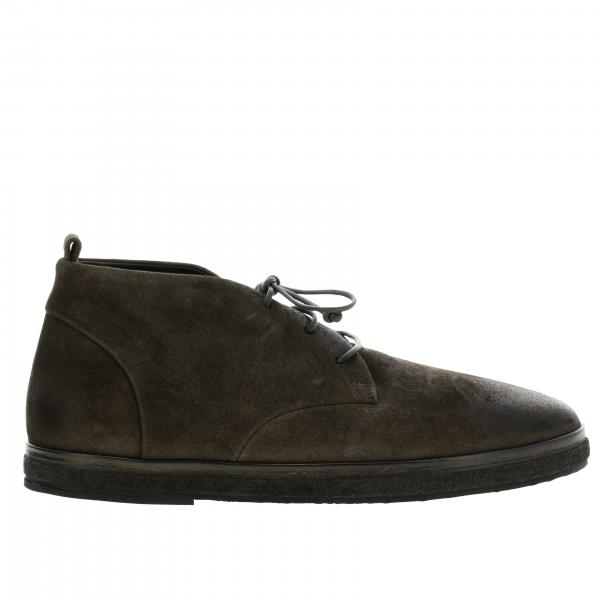 Blocco Para Marsell laced boots in suede