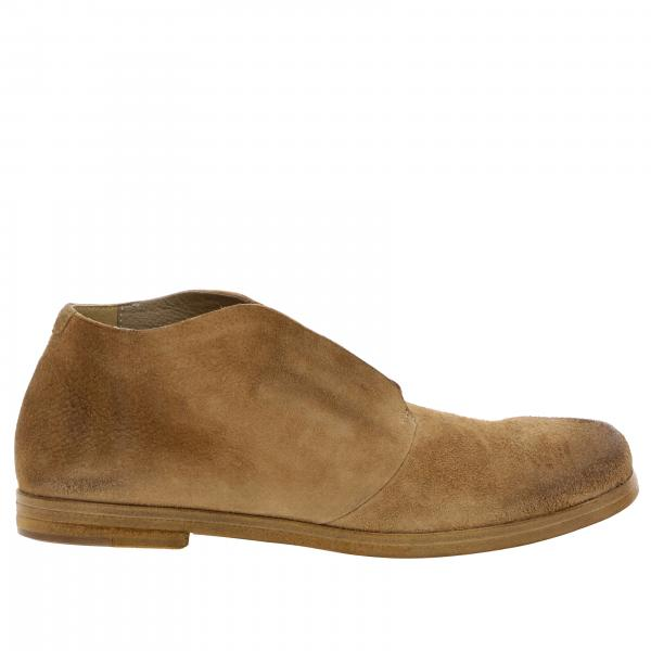 Marsell Listello shoes in suede leather