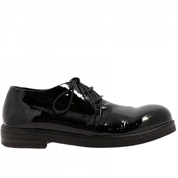 Marsell Derby Zucca Zeppa in shiny leather