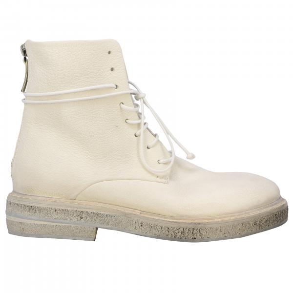 Marsell Parrucca 系带真皮拉链军靴