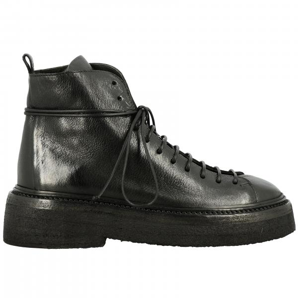 Marsell Pedula Parruccona Boots in leather