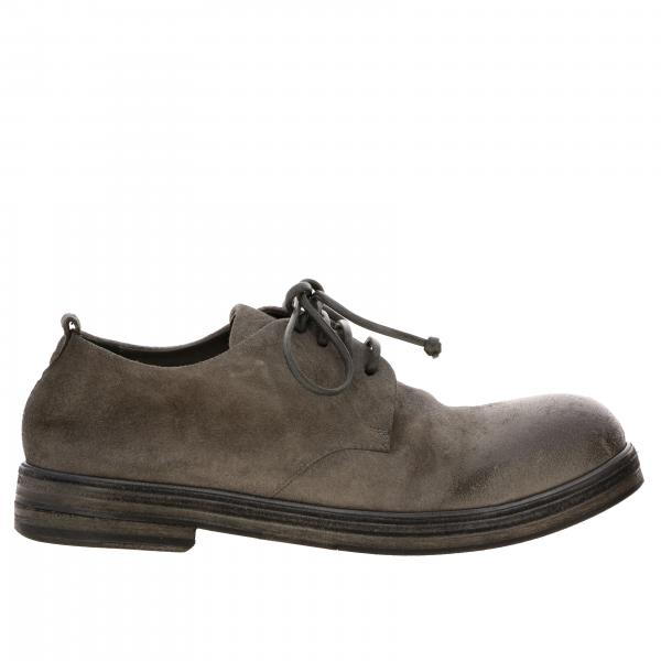 Marsell Derby Zucca Zeppa in suede leather