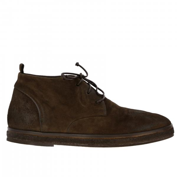 Chukka boots block Marsell in suede