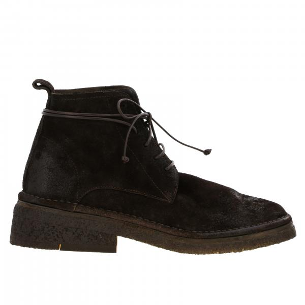 Marsell Burraccio ankle boots in suede leather
