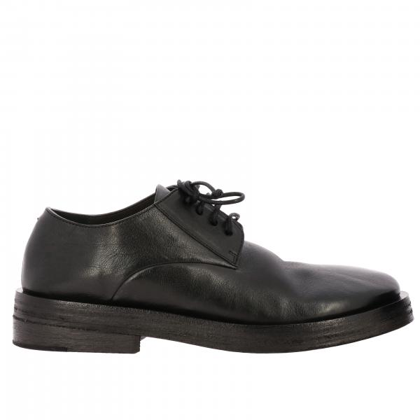 Marsell Listone derby in leather