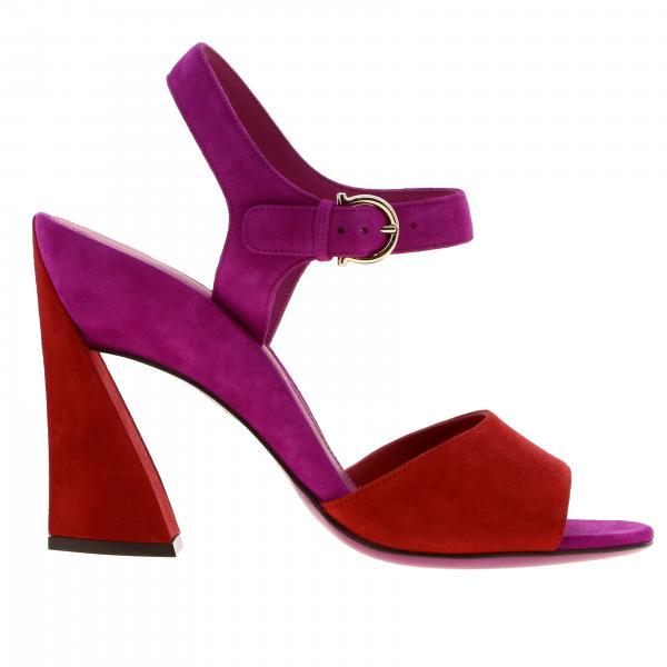 Flache sandalen damen Salvatore Ferragamo