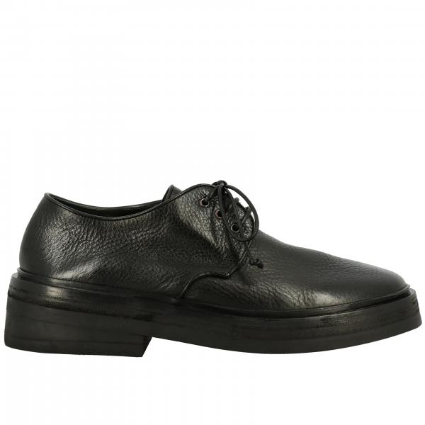 Marsell Gommolone derby in leather with multilayer rubber sole