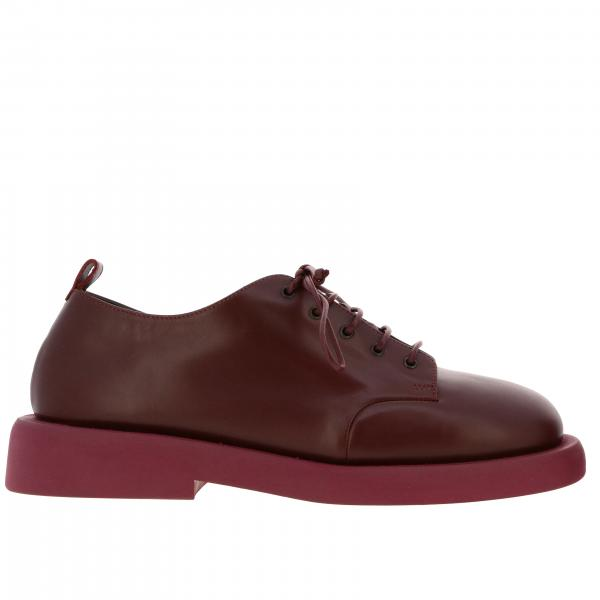 Derby Marsell rubber Pedula in rubber with rubber sole
