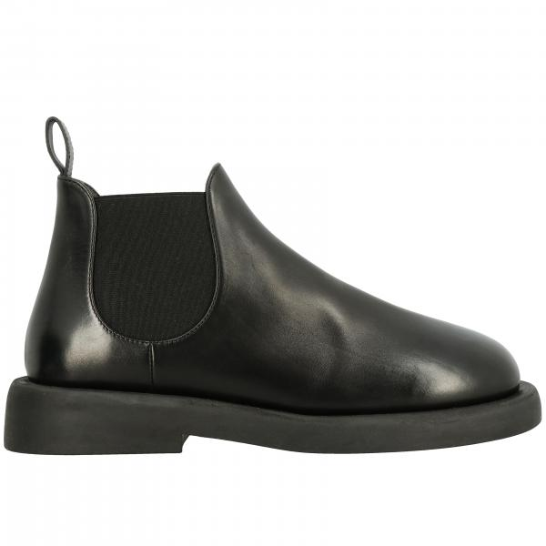 Marsell Gommello boots in leather with elasticated bands