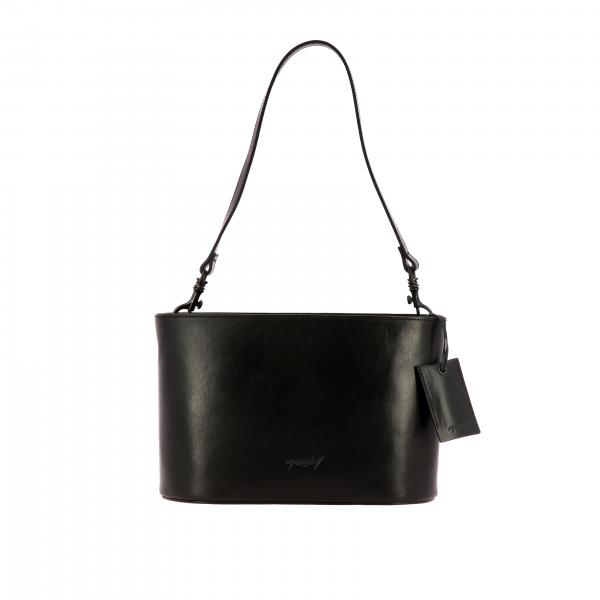 Marsell Mandorlato leather bag with shoulder strap