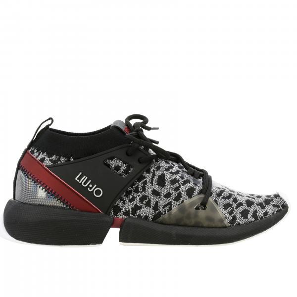 Sneakers Liu Jo sport in tessuto tecnico con suola in gomma